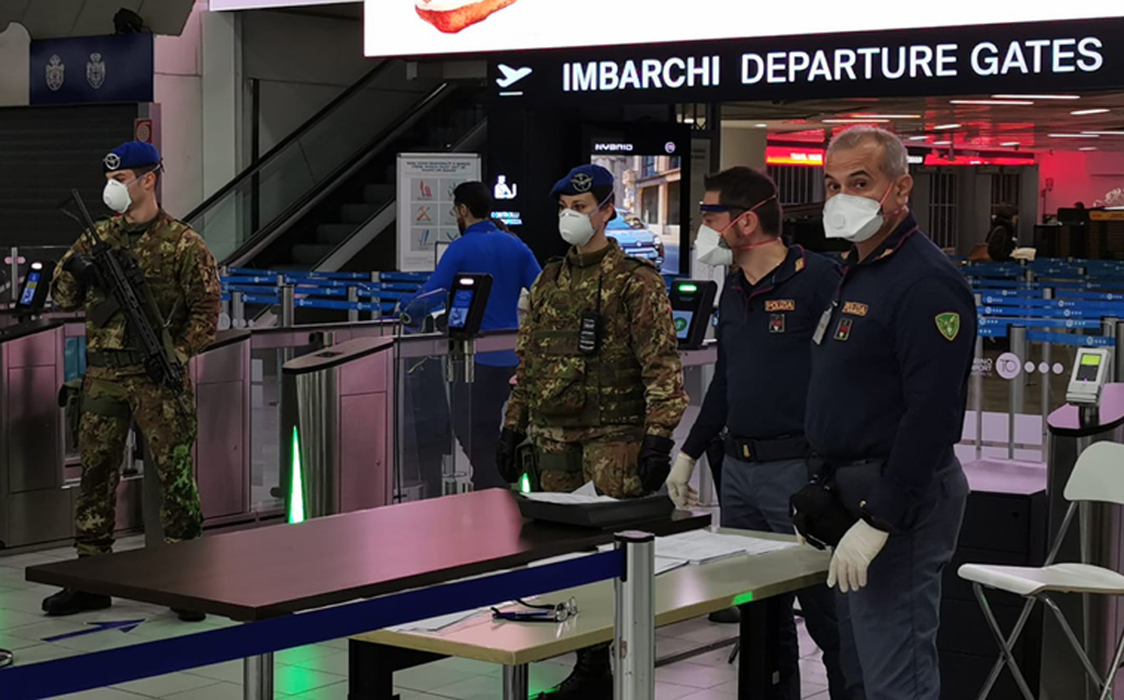 Supporto controllo varchi aeroportuali Torino-Caselle