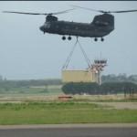 RSV:valutata la trasportabilità con CH 47 dell'Antares delle cucine campali