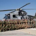 Libano, equipaggi di volo della Marina a Italair