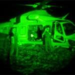 Terremoto: L'elisoccorso di Como atterra a Rieti con l'ausilio dei visori notturni