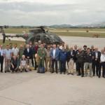 Incontro Sicurezza Volo al 72° Stormo di Frosinone con i rappresentanti di avio superfici, elisuperfici e campi di volo locali.
