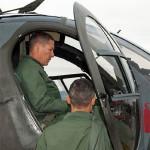 Visita del Comandante delle Scuole dell'Aeronautica Militare al 72° Stormo