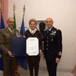 Brevetto militare per la prima donna italiana pilota di elicottero