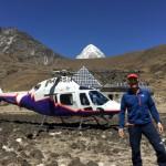 L'AW119Kx con Simone Moro in Nepal