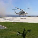 L'Aeronautica Militare collauda l'eliporto per il G7 di Taormina