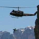 Sestriere: esercitazione di soccorso in montagna nel corso dei Ca.S.T.A. 2018