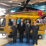 Leonardo: consegnato il millesimo elicottero AW139, campione di vendite sul mercato mondiale