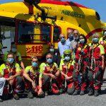 Elisoccorso Liguria: la base di Albenga si prepara alla partenza del servizio per l'11 luglio