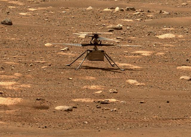 Ingenuity, primo volo autonomo di un elicottero su un pianeta diverso dalla Terra