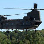 Completati i test su di un Chinook rimotorizzato con turbine GE T408