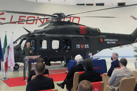 Accettato ufficialmente dall'Aeronautica Militare l'elicottero Leonardo HH-139B