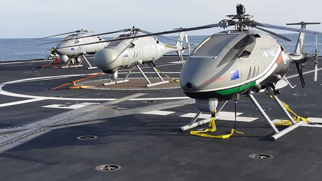 Leonardo: l'AWHero ottiene la prima certificazione militare al mondo per un elicottero a pilotaggio remoto nella sua categoria